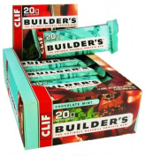 Clif 31936 Chocolate Mint Builder Bar