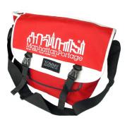 Blancho Bedding MB-JX007-RED Nordic Print - Red Multi-Purposes Messenger Bag / Shoulder Bag