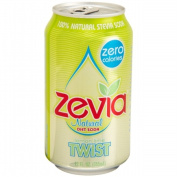 Zevia 35589 4 x 6/350ml Natural Twist Diet Soda