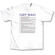 L.A. Imprints 5142XL Cats Rules - XLarge