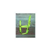 Hamilton Halter Company 3 4 Adj Chin Halter W Snap Lime Pony - 3DAS POLI