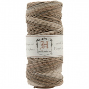 Earthy Variegated HS20VA 9.1kg-weight 60m Hemp Cord Spool