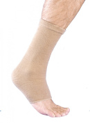 MAXAR Cotton/Elastic Ankle Brace (Four-Way Stretch 67% Cotton) - Small