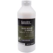Liquitex Gloss Acrylic Fluid Medium & Varnish-470ml