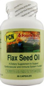 FoodScience of Vermont Essential Fatty Acids Flax Seed Oil 90 capsules 215069