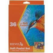 Soft Pastel Set 36/Pkg-Assorted Colours