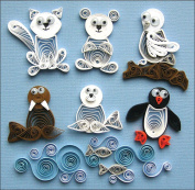 Quilled Creations 479102 Quilling Kit-Arctic Buddies