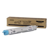 Xerox XER106R01214 Toner Cartridge- for Phaser 6360- 5000 Page Yield- Cyan