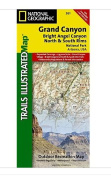 National Geographic Maps TI00000261 Grand Canyon- Bright Angel Canyon/North and South Rims