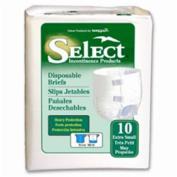 Principle Business Enterprises 3666 Select Disposable Briefs X-Small