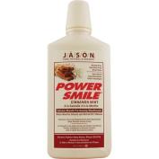 Jason Natural Products 0954537 PowerSmile Mouthwash Cinnamon Mint - 470ml