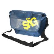Blancho Bedding MB-S872-BLUE Life Base Style - Blue Multi-Purposes Messenger Bag / Shoulder Bag