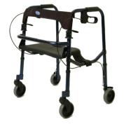 Invacare 65100-JR JuniorRollite Rollator - Midnight Blue Colour - 140kg Capacity