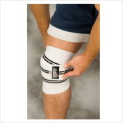 Schiek Sports 1178KW-WV 200cm Schiek Line Heavy Duty Knee Wraps With Vecro - White
