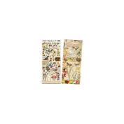 Crafty Secrets Publications Heartwarming Vintage Creative Scraps Altered Fairies Multi-Coloured