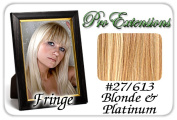 Brybelly Holdings PRFR-27613 No. 27-613 Dark Blonde with Platinum Pro Fringe Clip In Bangs