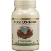 Maxi Health Kosher Vitamins 1089846 Maxi D3-5000 - 180 Tablets
