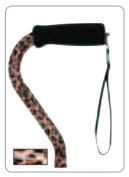 BRIGGS HEALTHCARE 502-1300-8892 DMI Lightweight Adjustable Cane-Leopard Print