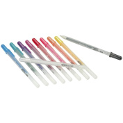 Gelly Roll Glaze Bold Point Pens 10/Pkg-Brights
