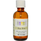 Aura Cacia 0715268 100 Percent Pure Essential Oil Tea Tree Cleansing 2 fl oz - 59 ml - 2 oz