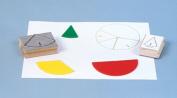 Centre Enterprises Inc. Ce-784 Jumbo Pie Fraction Circle Stamps