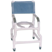 MJM International 118-3-FS Shower Chair