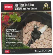 Toro 53799 2.5cm Jar Top Valve with Flow Control