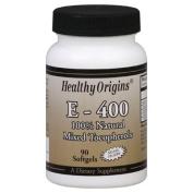 Healthy Origins 0527937 E-400 - 400 IU - 90 Softgels