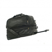 Mercury 8119BK Highland II Series Expandable Sport Duffle with Wheels