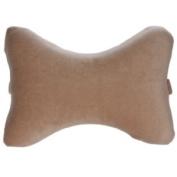 Living Healthy Products Car-Bone-02 Car Head Pillow Bone Shaped