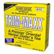Body Breakthrough 0660290 Diet Trim-Maxx Tea Lemon - 60 Tea Bags