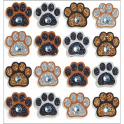 Jolee's Mini Repeats Stickers, Paw Prints