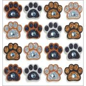 Jolee's Mini Repeats Stickers, Paw Prints
