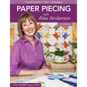 C & T Publishing 467103 C & T Publishing-Paper Piecing With Alex Anderson