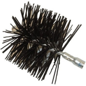 Rutland MST-6 15cm . Diameter Round Master Sweep Round Wire Brush Head With Tlc Torque Lock Connector