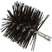 Rutland MST-6 15cm . Diameter Round Master Sweep Round Wire Brush Head With Tlc Torque Lock Connector