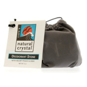 Lafes Natural Body Care 0420570 Natural Deodorant Crystal Stone With Pouch And Dish - 6 oz