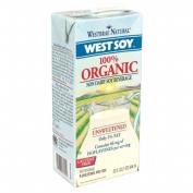Westsoy 12409 Organic Unsweetened Westsoy