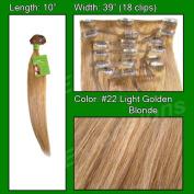 Brybelly Holdings PRST-10-22 No. 22 Medium Blonde - 25cm