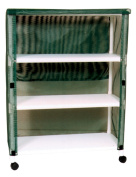 MJM International E345-3C Echo Linen Cart