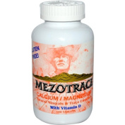 Mezotrace 0598391 Calcium Magnesium with Vitamin D - 180 Tablets