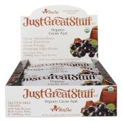 Betty Lous 001924 Betty Lous Just Great Stuff Cacao Acai bar- 12-1.5 OZ