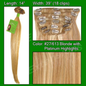 Brybelly Holdings PRST-14-27613 No. 27-613 Golden Blonde with Platinum Highlights - 36cm