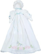 Jack Dempsey 433767 Stamped White Pillowcase Doll Kit-Dragonfly & amp; Floral