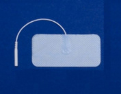 Pepin EW13 Envirotrode Cool Blue - 4.4cm X 9.5cm Rectangle Prewired Electrode - 20 Packs Of 4