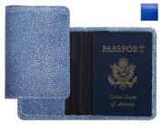 Raika RO 115 BLUE Passport Cover - Blue
