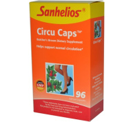 Sanhelios 0108878 Circu Caps with Butchers Broom and Rosemary - 96 Capsules