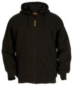 Berne Apparel SZ101BKT440 Large Tall Original Hooded Sweatshirt Thermal Lined - Black