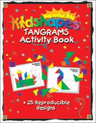 Barker Creek LM-B232 Learning Magnets - KidUSA Kidshapes Tangrams Activity Book