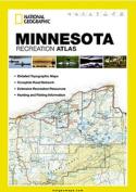 National Geographic Maps ST01020697 Minnesota Recreation Atlas